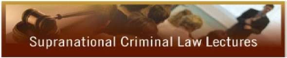Supranational Criminal Law Lectures